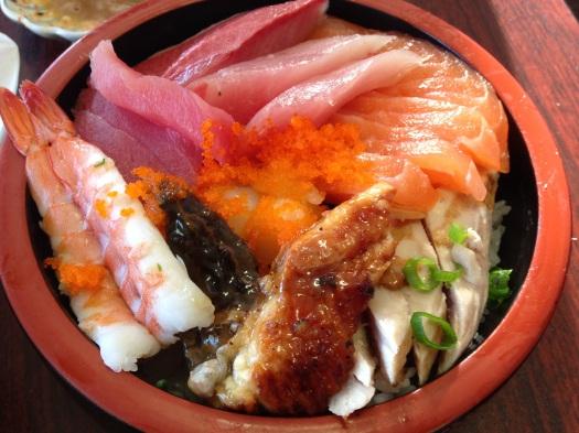 Musashi's chirashi bowl