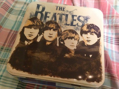 The Beatles box I bought during my first trip to the US six years ago. I put so many collectibles from the trip inside it! It was also probably when I started to collect random, yet worth-keeping, things.