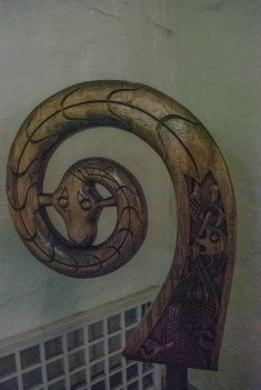 The Viking spiral of one of the ships. I forgot which ship it is from.
