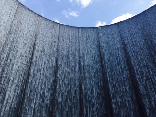 The Water Wall near The Galleria, Houston.